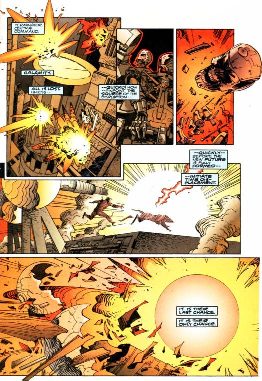 RoboCop vs. Terminator #3-Gotta Save Our Robotic Hides!