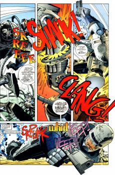 RoboCop vs. Terminator #3-Murphy Gets Mangled!