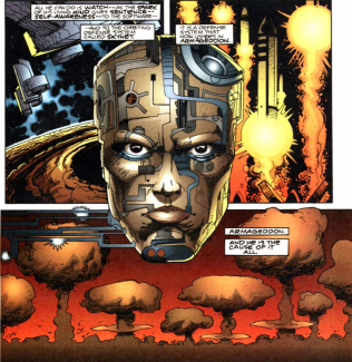 RoboCop vs. Terminator #3-The Apocalypse Has Come!