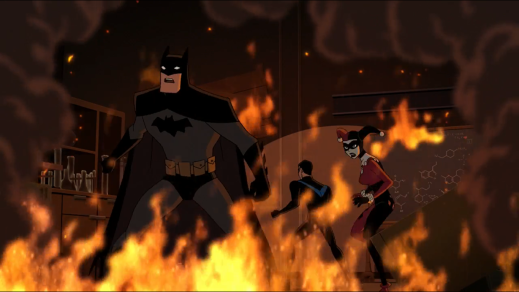 Batman-Trapped In An Inferno!