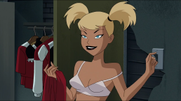 Harley Quinn-Lil' Boy Wonder's All Grown Up!