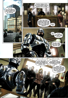 Dynamite's RoboCop #1-Fateful Meeting!