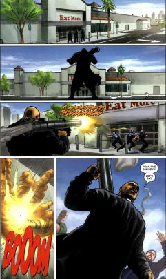 Dynamite's RoboCop #1-Let My People Have Food!