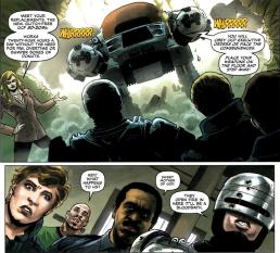 Dynamite's RoboCop #1-Meet Your Replacements!