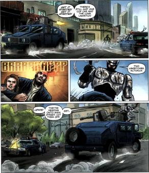 Dynamite's RoboCop #1-We Almost Have Him!