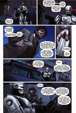Dynamite's RoboCop #2-I'm Free From OCP's Control!