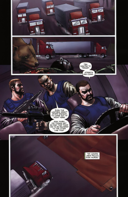 Dynamite's RoboCop #2-Serious Food Delivery!