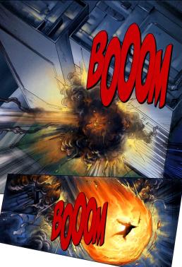 Dynamite's RoboCop #3-Firey Demise!