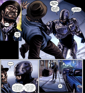 Dynamite's RoboCop #3-I'm Willing To Help You!