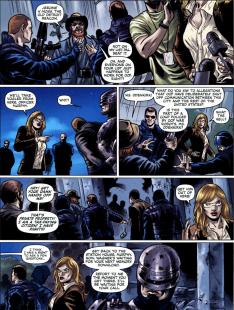 Dynamite's RoboCop #3-Suspision Within An Arrest!