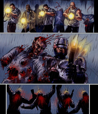 Dynamite's RoboCop #3-They're Going Down!