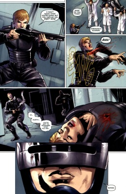 Dynamite's RoboCop #4-Fateful Interference!