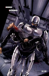 Dynamite's RoboCop #4-We're Outta Here!