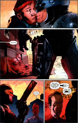 Dynamite's RoboCop #5-Go Get Them, My Creation!