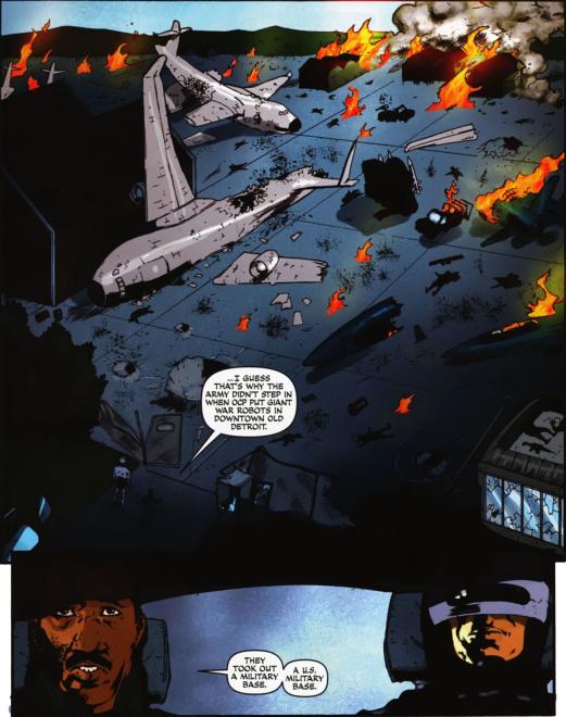 Dynamite's RoboCop #6-Good Lord!