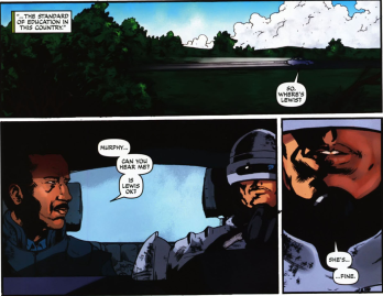 Dynamite's RoboCop #6-Sort Of Sharing Lewis' Fate!