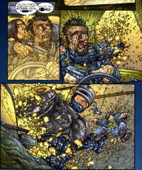 Frank Miller's RoboCop #1-Get Outta The Car!