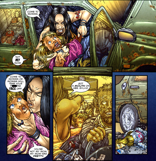 Frank Miller's RoboCop #1-Kiddie Kidnapping!