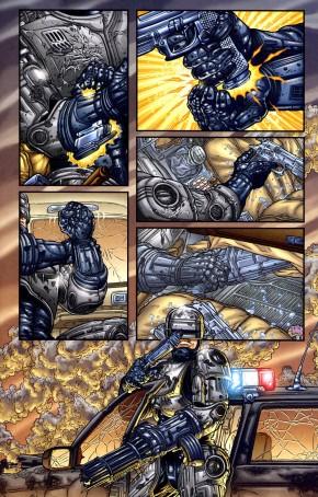 Frank Miller's RoboCop #1-Locked & Loaded!