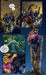 Frank Miller's RoboCop #1-You're Safe!
