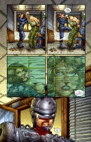 Frank Miller's RoboCop #2-Strong, Independent Woman!