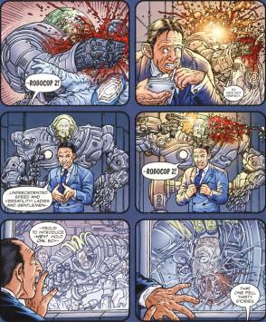 Frank Miller's RoboCop #3-Just Like The Film!