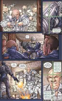 Frank Miller's RoboCop #3-Official Confrontation!