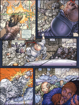 Frank Miller's RoboCop #3-Roughing Up The Rehabs!