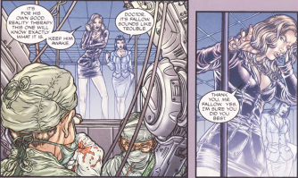 Frank Miller's RoboCop #4-At Least You Tried, Mr. Fallow!