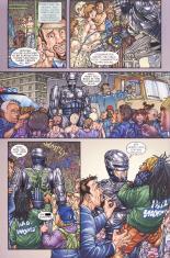 Frank Miller's RoboCop #4-RoboCop Is Awkward!