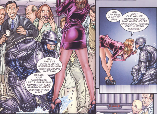 Frank Miller's RoboCop #4-You're Wrapped Around My Finger!