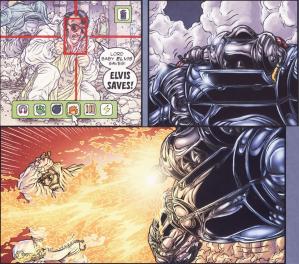Frank Miller's RoboCop #5-I'm The True King!