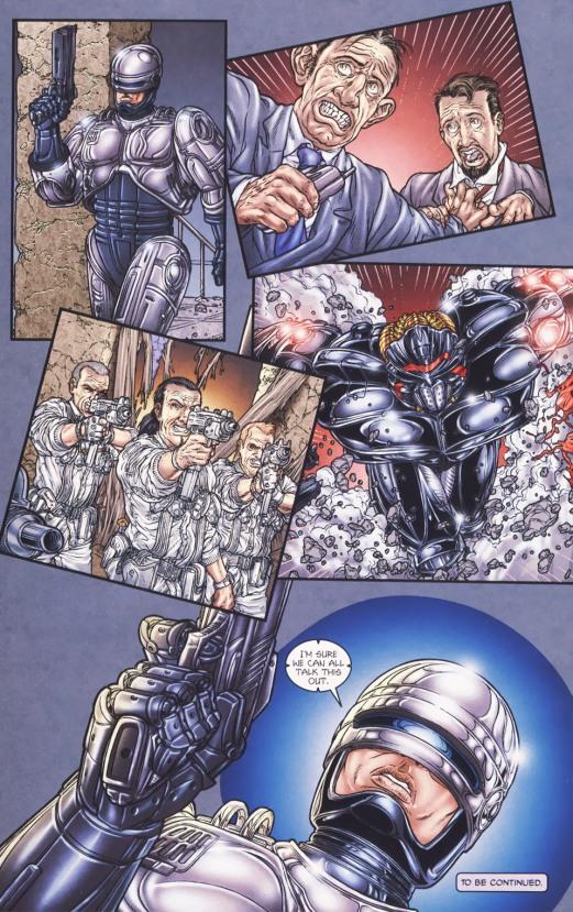 Frank Miller's RoboCop #5-Let's Talk, Gentlemen!