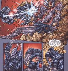 Frank Miller's RoboCop #6-Robocop Royal Rumble!