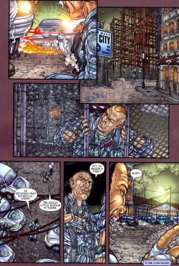 Frank Miller's RoboCop #7-A Silver Lining For The Rehabs!