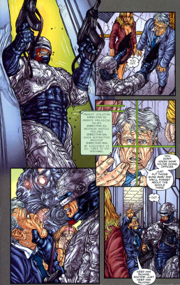 Frank Miller's RoboCop #7-Everyone But Margaret Gets Out!