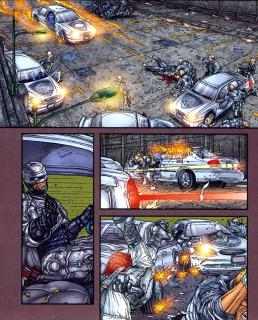 Frank Miller's RoboCop #7-You Won't Stop Me!