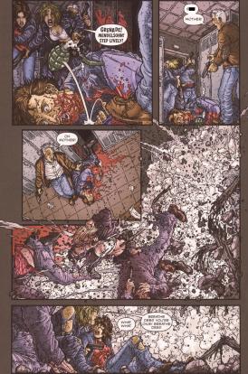 Frank Miller's RoboCop #8-Get Down!
