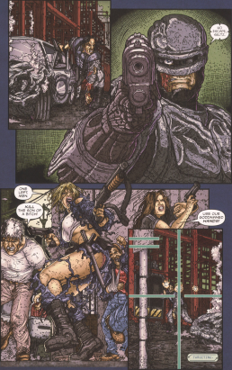 Frank Miller's RoboCop #8-Get Him!