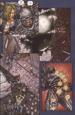 Frank Miller's RoboCop #8-Incoming!