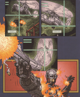 Frank Miller's RoboCop #8-Stay On Target!