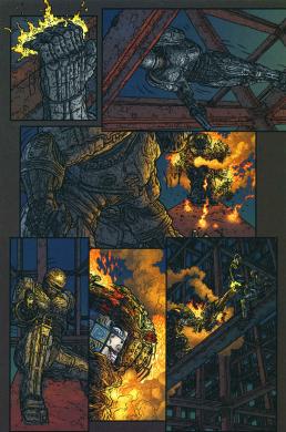 Frank Miller's RoboCop #9-Not Looking Good!