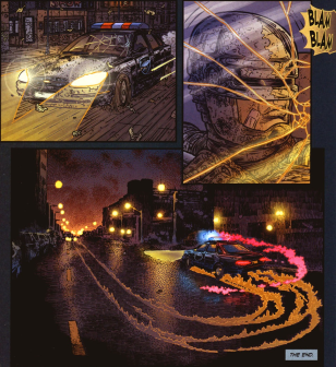 Frank Miller's RoboCop #9-Protecting The Streets!