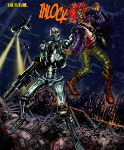 Terminator & RoboCop-Kill Human #1-A Grim Opening!