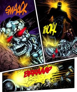 Terminator & RoboCop-Kill Human #1-A Hero Reborn!