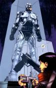 Terminator & RoboCop-Kill Human #1-Hero Under Glass!