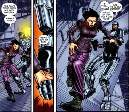 Terminator & RoboCop-Kill Human #1-We've Gotta Evade Them!
