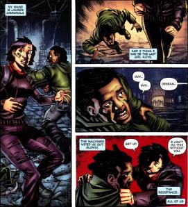 Terminator & RoboCop-Kill Human #1-We've Gotta Go!