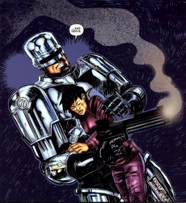 Terminator & RoboCop-Kill Human #1-You're Safe!