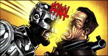 Terminator & RoboCop-Kill Human #2-Headbutt Of Justice!